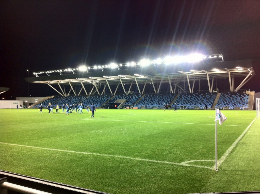 The Manchester City Football Academy Stadium