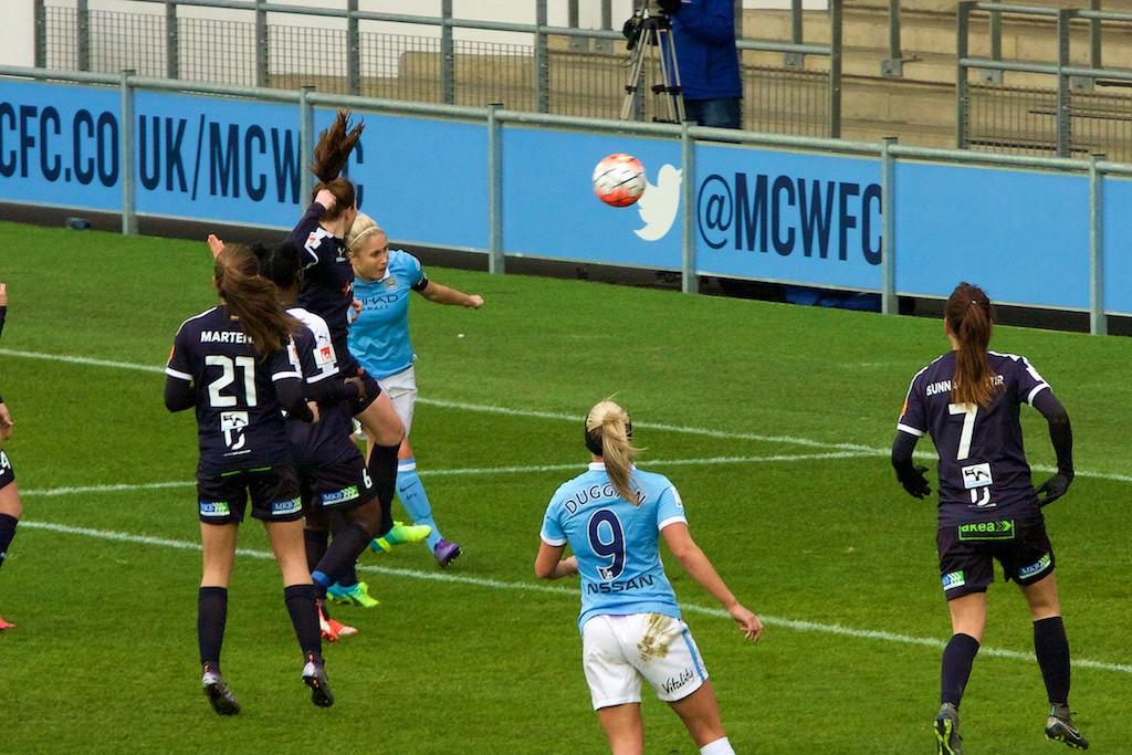 Man City Women captain Steph Houghton