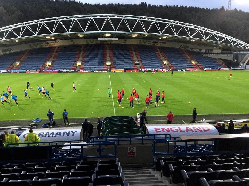 England U20 v Germany U20 at John Smith's Stadium, Huddersfield