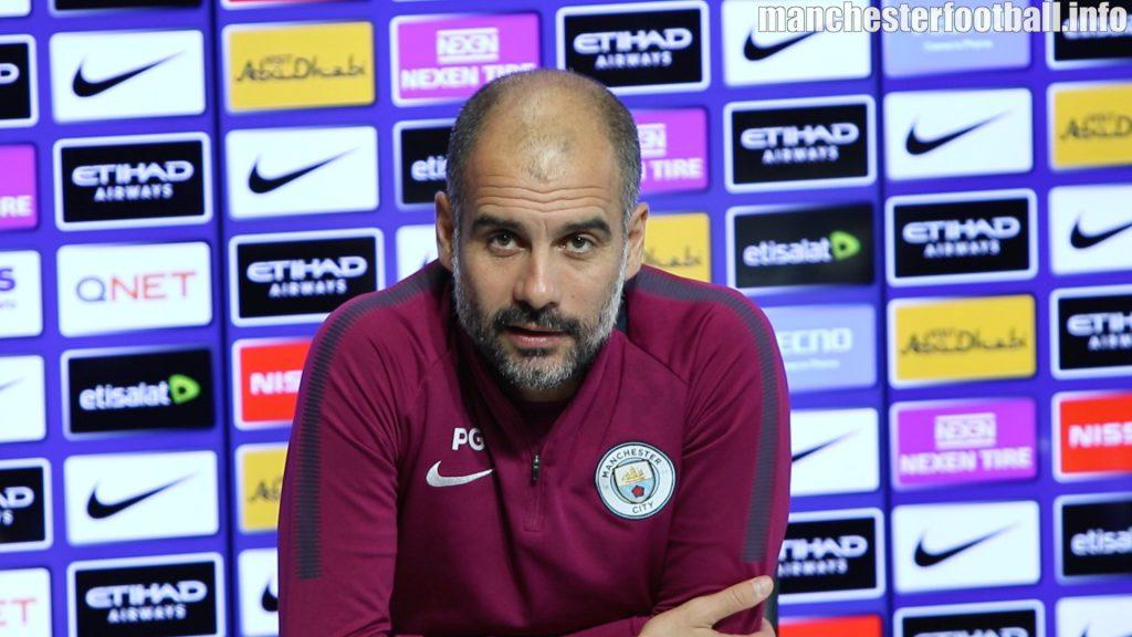 Pep Guardiola's pre-match press conference