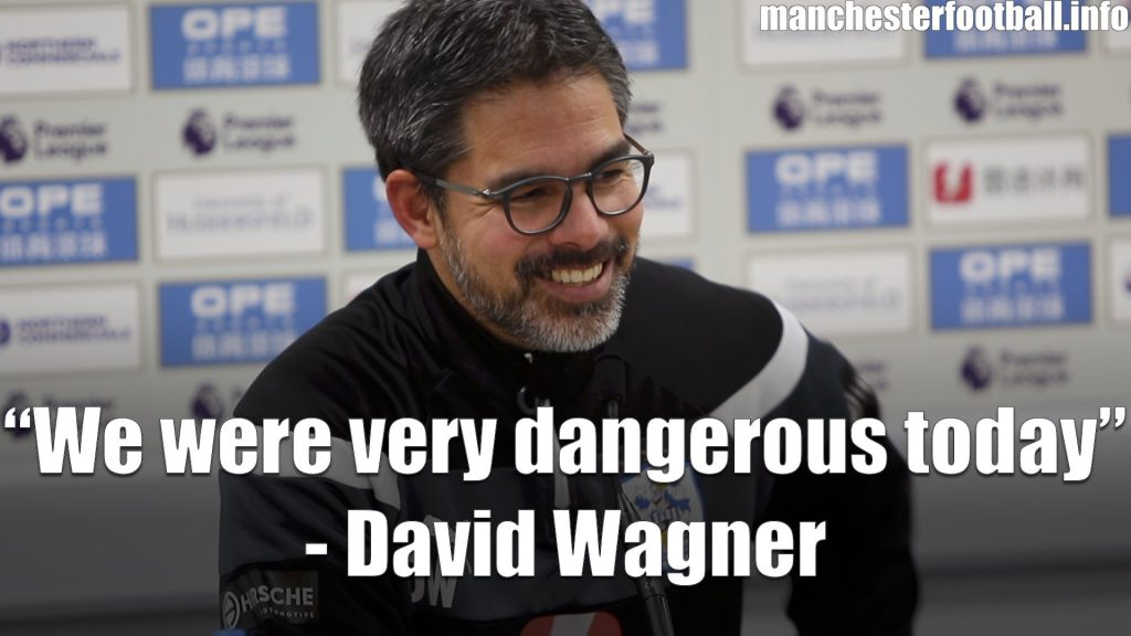 David Wagner's post match press conference after the Huddersfield Town vs Brighton game on Saturday, December 9, 2017