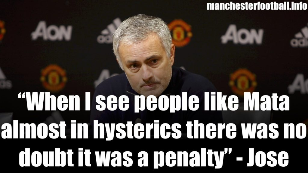 Jose Mourinho Man Utd vs Southampton Post Match Press Conference December 2017