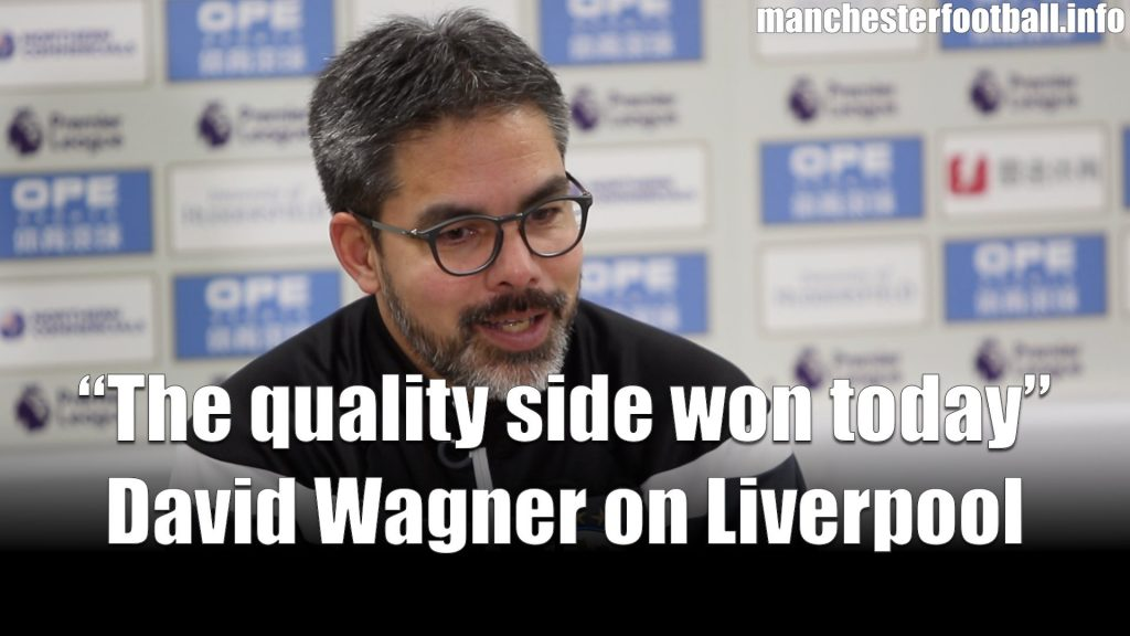 David Wagner Huddersfield Town vs Liverpool 2018