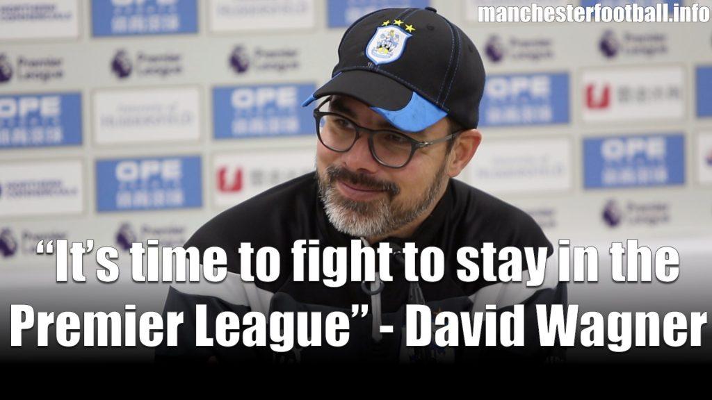 David Wagner Huddersfield Town vs Bournemouth February 2018