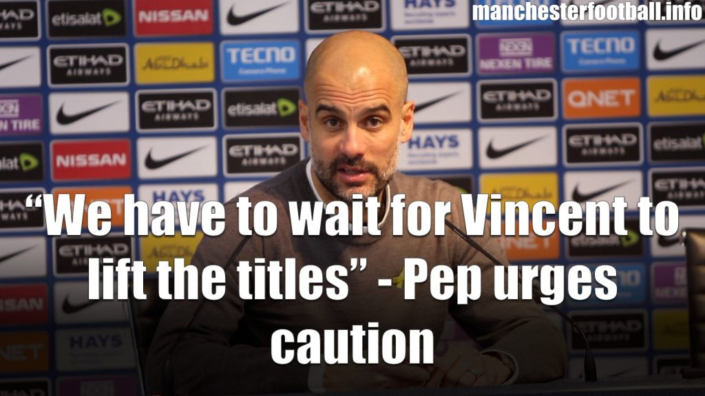 Pep Guardiola's post match press conference Man City vs Leicester City 2018