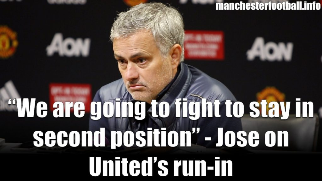 Jose Mourinho's post match press conference following Manchester United's 2-0 win over Swansea City on March 31, 2018