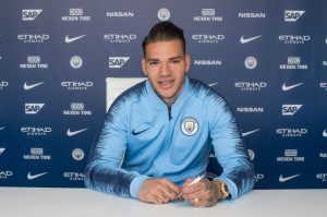 Ederson signs new contract with Manchester City
