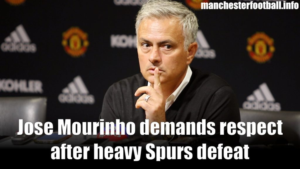 Jose Mourinho post match press conference Man Utd vs Spurs 2019