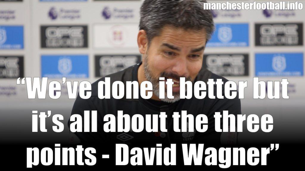 David Wagner's Post Match Press Conference - Huddersfield Town vs Fulham November 5 2018
