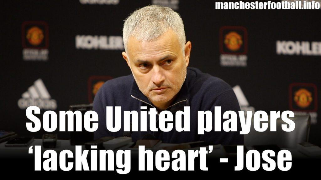 Jose Mourinho Man Utd vs Crystal Palace November 24 2018
