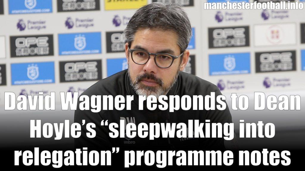 David Wagner Huddersfield Town vs Burnley January 2 2019