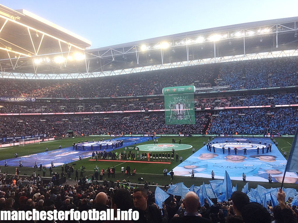 2019 Carabao Cup Final at Wembley - Chelsea v Man City - Sunday, February 24, 2019