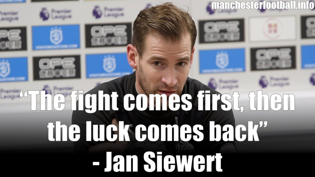 Jan Siewert Huddersfield Town vs Arsenal February 9 2019