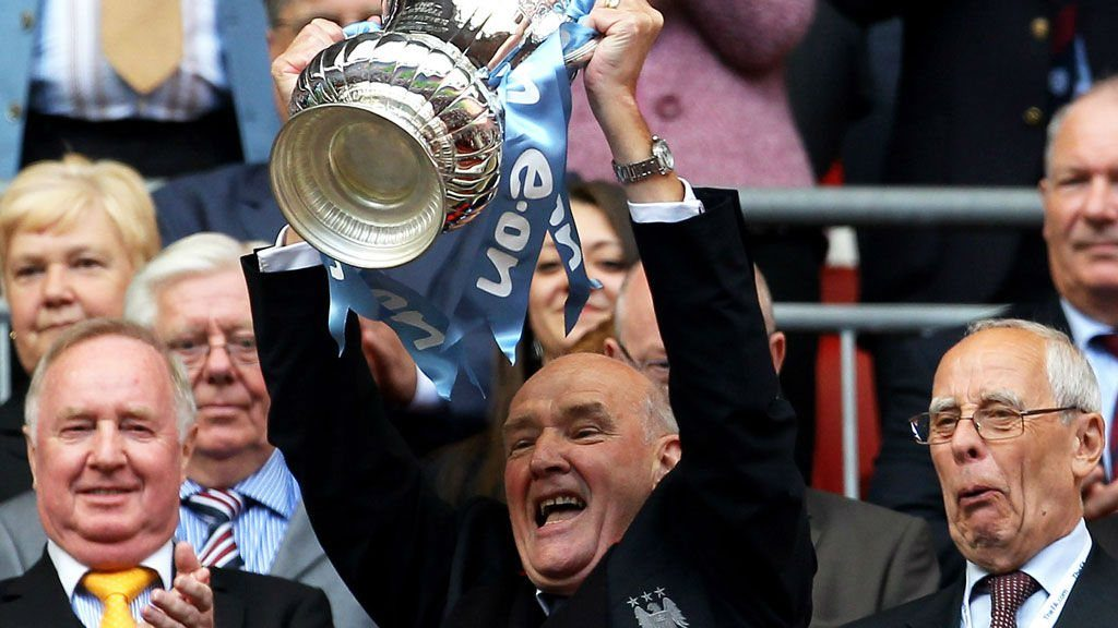 Bernard Halford lifted the FA Cup in 2011 with Manchester City