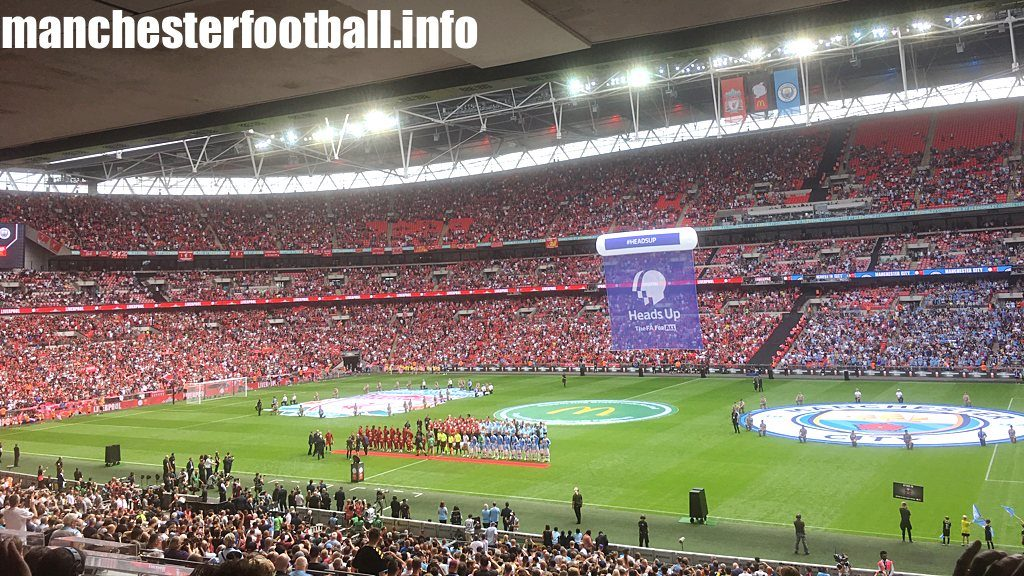 Man City vs Liverpool - Community Shield Sunday August 4 - Wembley