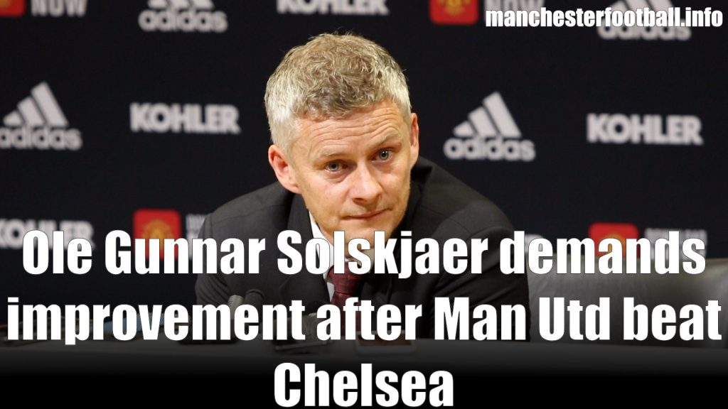 Ole Gunnar Solskjaer Post Match Press Conference Man Utd vs Chelsea August 11 2019