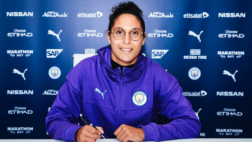 Karima Benameur signs for Manchester City Women
