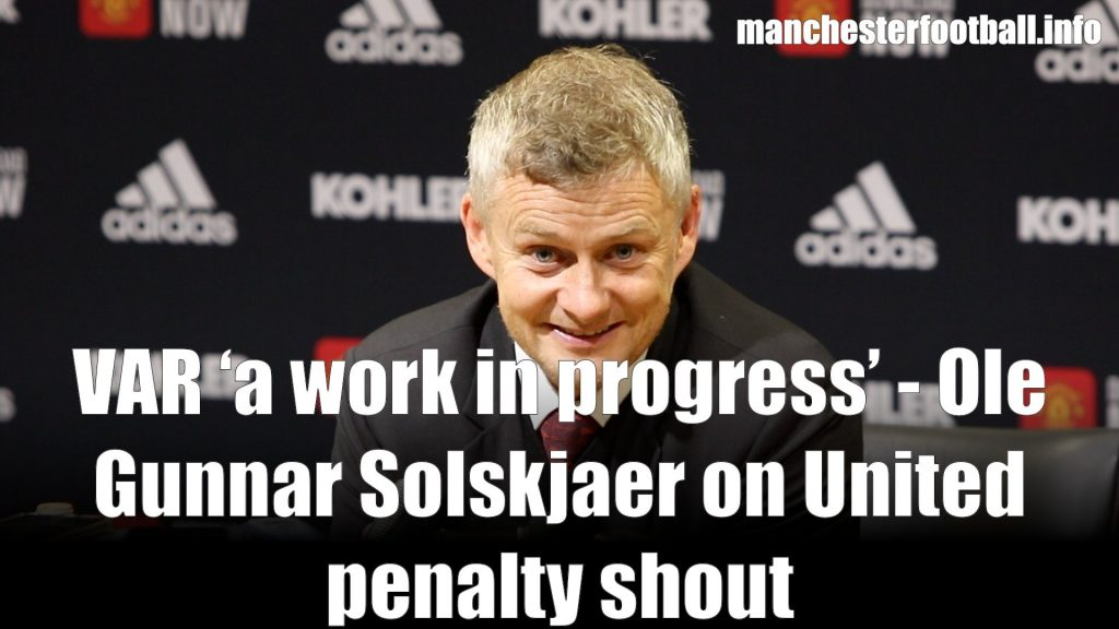 Ole Gunnar Solskjaer - Manchester United 1, Arsenal 1 - Monday September 30, 2019