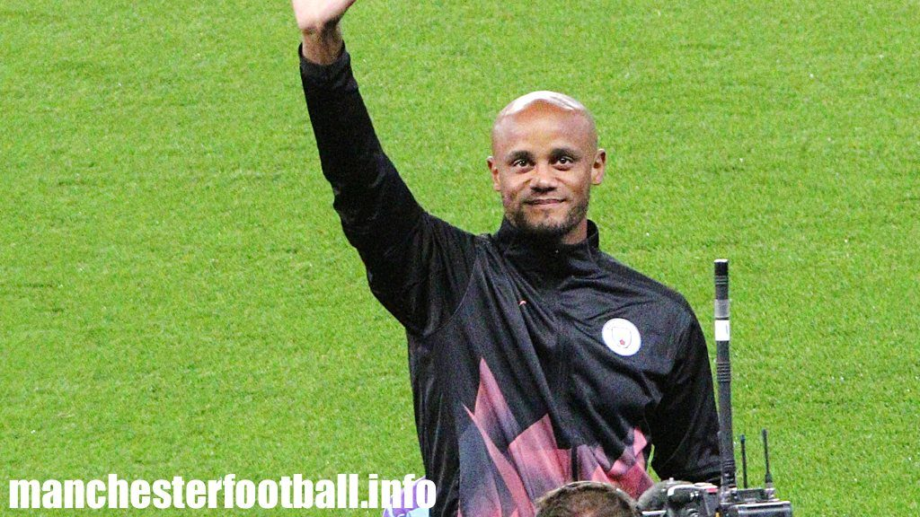 Vincent Kompany on the night of his Tackle4MCR testimonial September 11, 2019