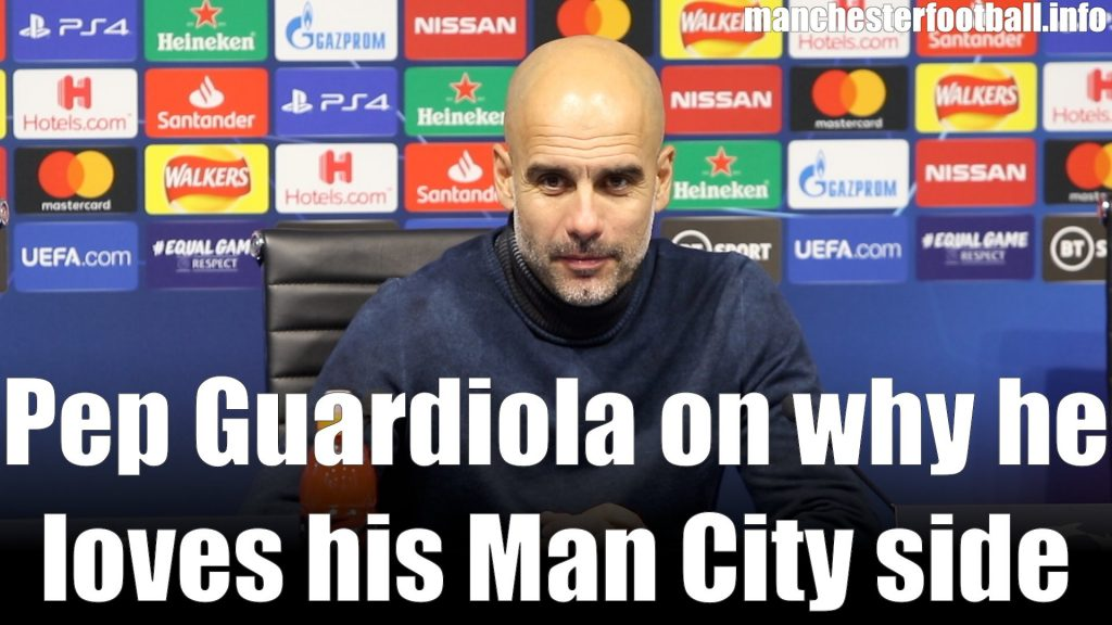 Pep Guardiola - Man City 2, Dinamo Zagreb 0 - October 1 2019