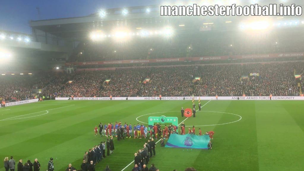 Liverpool vs Manchester City at Anfield on Sunday November 10 2019