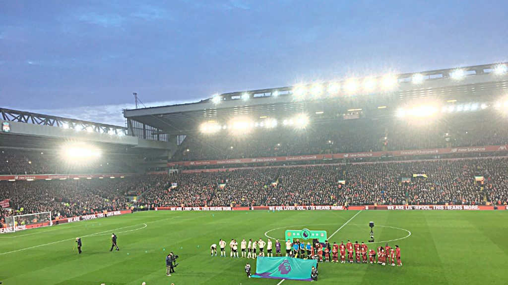 Liverpool 2, Manchester United 0 - Sunday January 19 2020