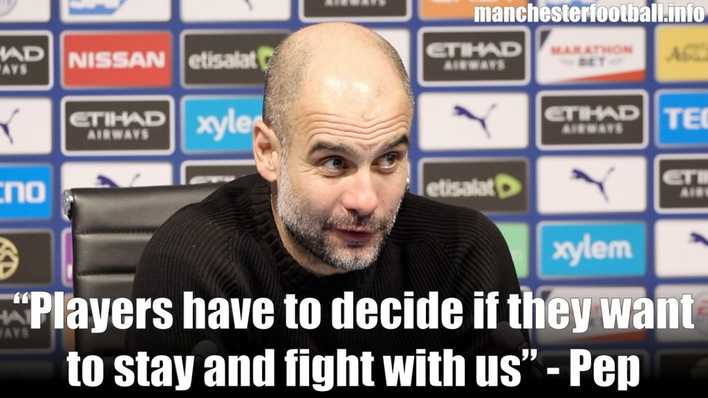 Pep Guardiola Man City 2, Everton 1 - Wednesday January 1 2020