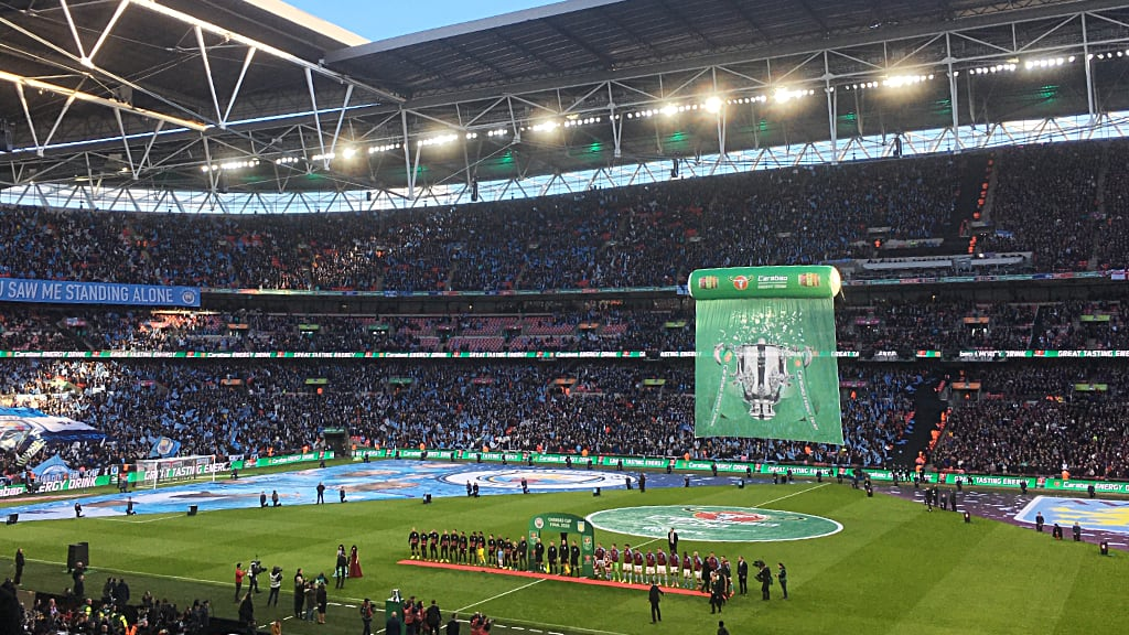 Manchester City vs Aston Villa - Carabao Cup final Sunday March 1 2020