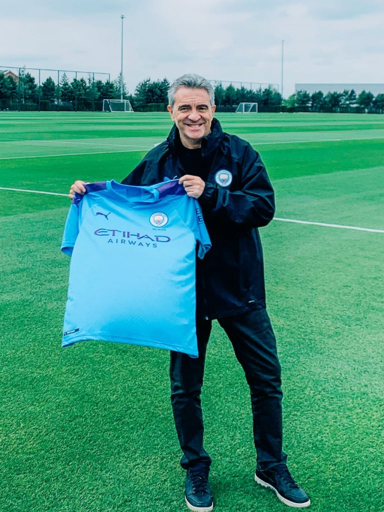 Juan Manuel Lillo - joins Manchester City as assistant coach