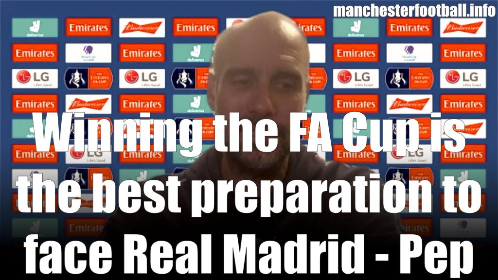 Pep Guardiola Post Match Press Conference Newcastle Utd 0, Man City 2 FA Cup QF - Sunday Jun 28 2020