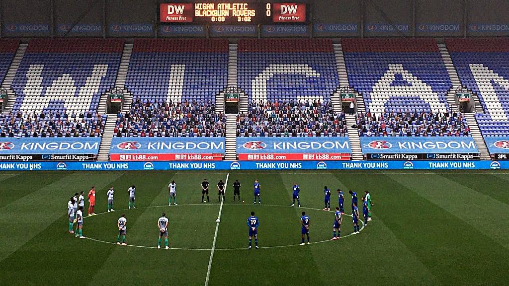 Wigan Athletic vs Blackburn Rovers June 27 2020