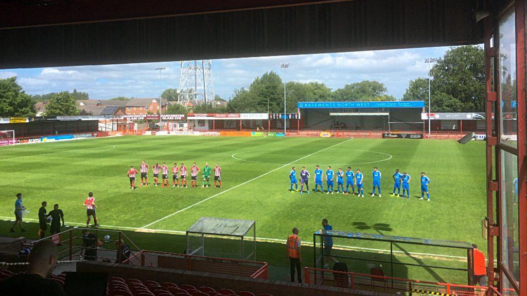 Altrincham 3, Chester FC 2 Sunday July 19 2020