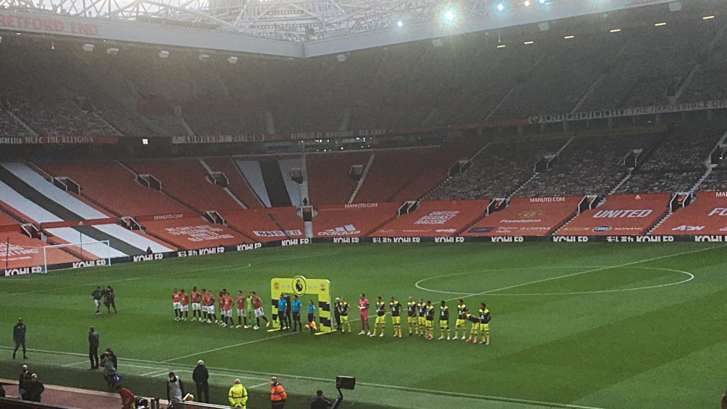 Man Utd 2, Southampton 2 Project Restart Premier League Monday July 13 2020