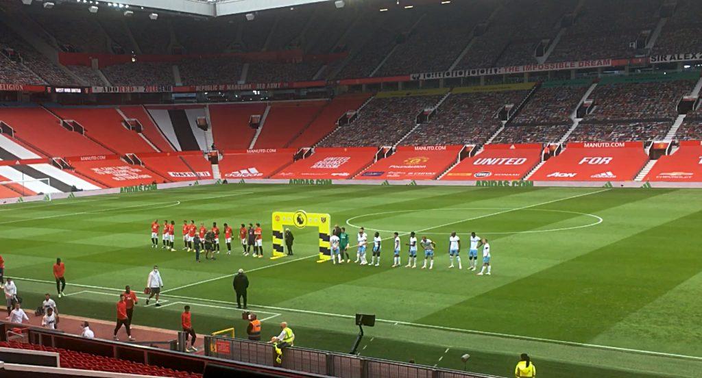 Manchester United 1, West Ham 1 - Premier League Project Restart Wednesday July 22 2020