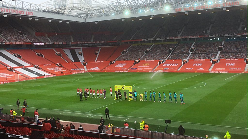 Manchester United vs Bournemouth, Saturday July 4 2020 Premier League Project Restart