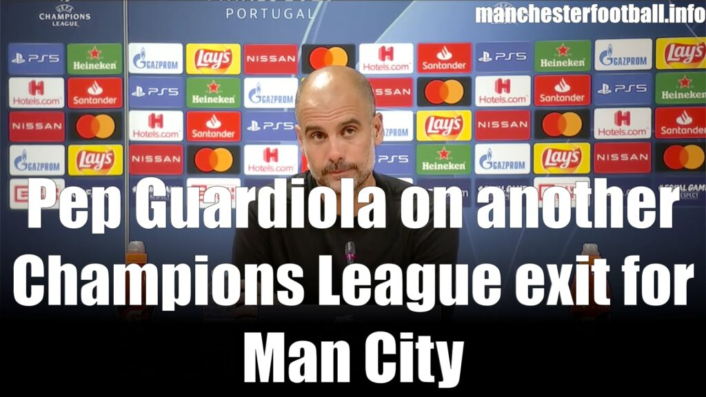 Pep Guardiola Man City 1, Lyon 3 - Saturday August 15, 2020