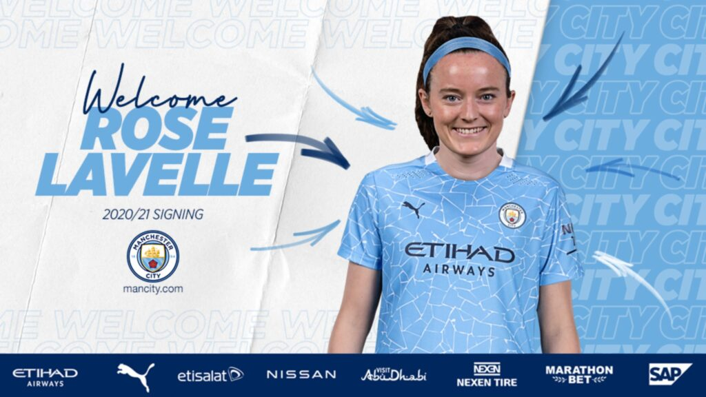 Rose Lavelle joins Manchester City