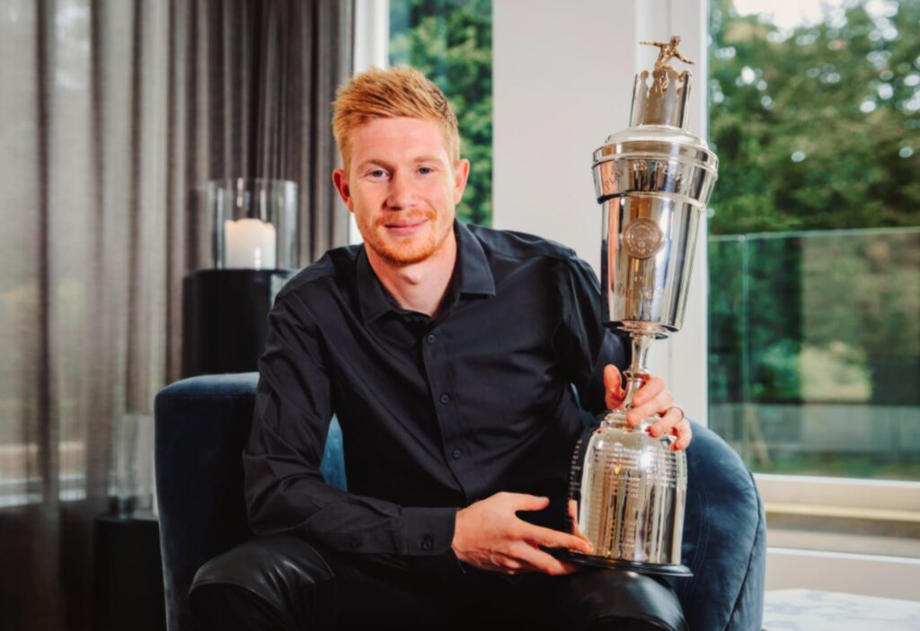 Kevin De Bruyne PFA Player of the Year 2019-2020