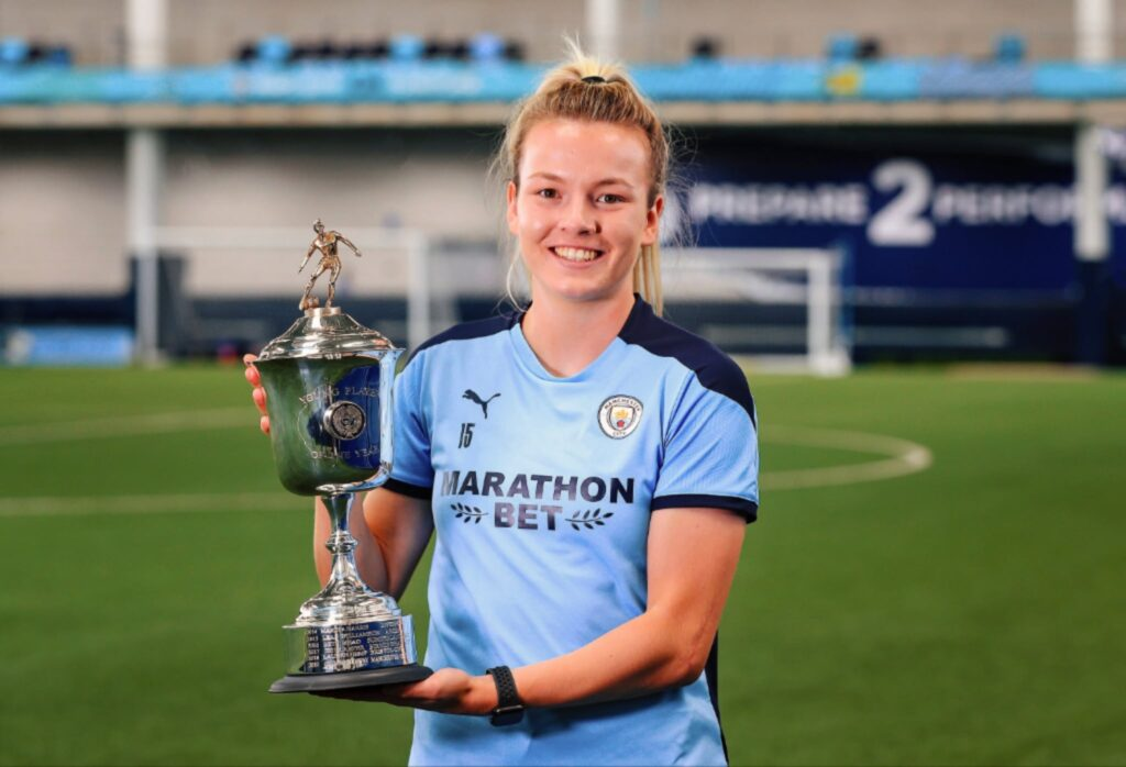 Lauren Hemp PFA Young Player of the Year 2019-2020