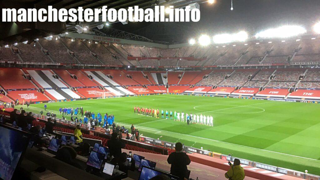 Manchester United vs RB Leipzig Wednesday October 28 2020