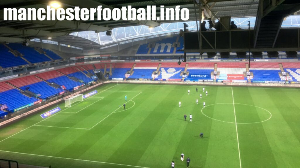 Bolton Wanderers 3, Southend United 0 - Saturday November 28 2020