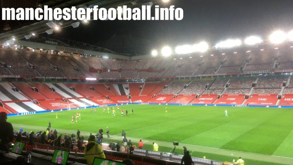 Manchester United 1, West Brom 0 - Saturday November 21 2020