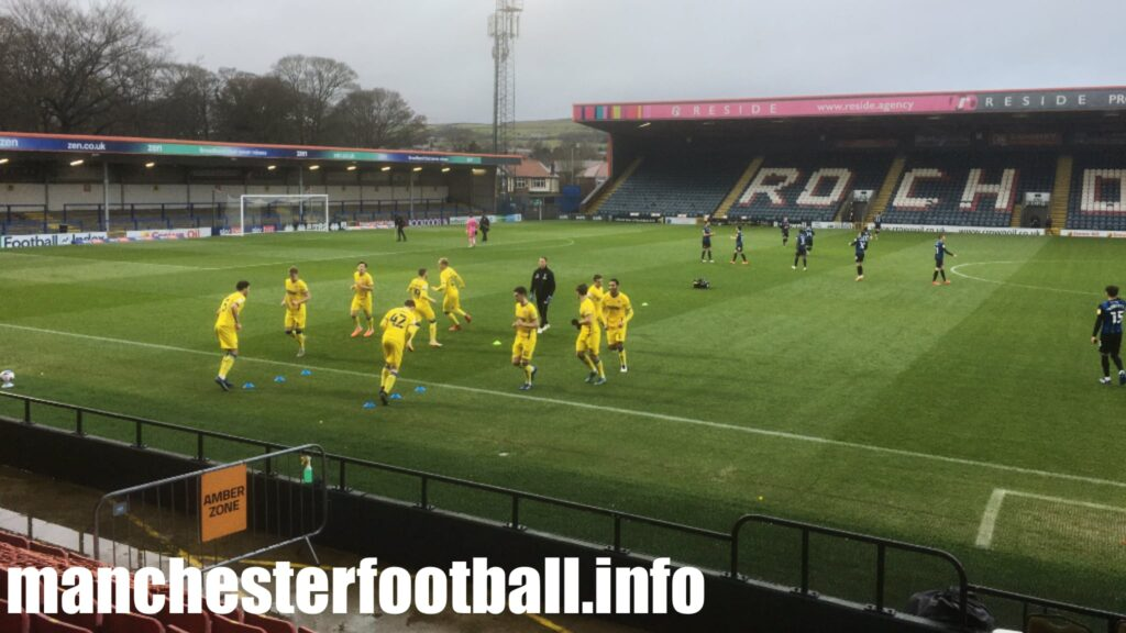 Rochdale vs AFC Wimbledon Saturday November 21 2020