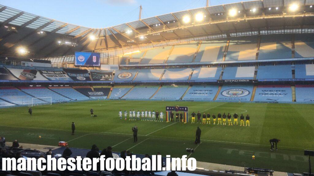 Manchester City vs Fulham Saturday December 5 2020