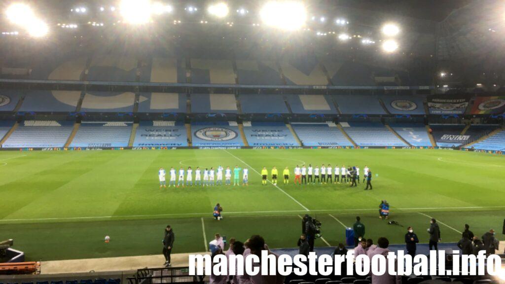 Manchester City vs Marseille Wednesday December 9 2020