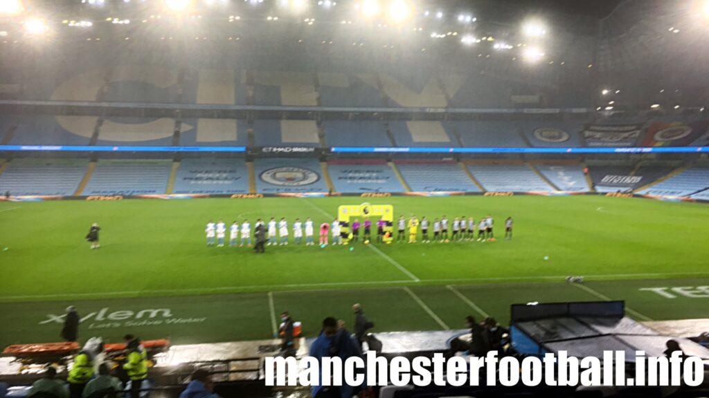 Manchester City vs Newcastle Utd - Saturday December 26 2020