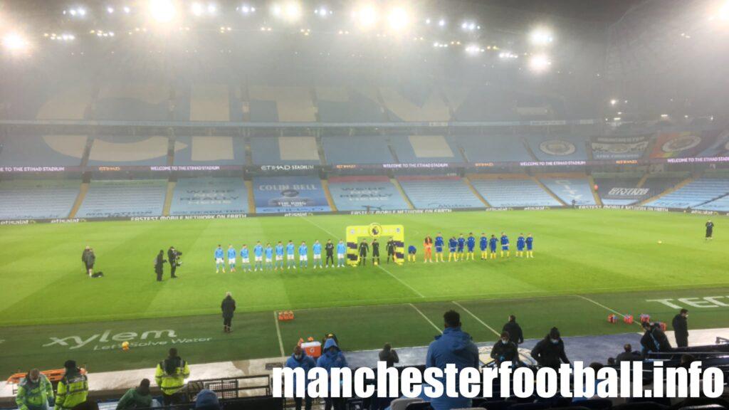 Manchester City 1, Brighton 0 - Wednesday January 12 2021