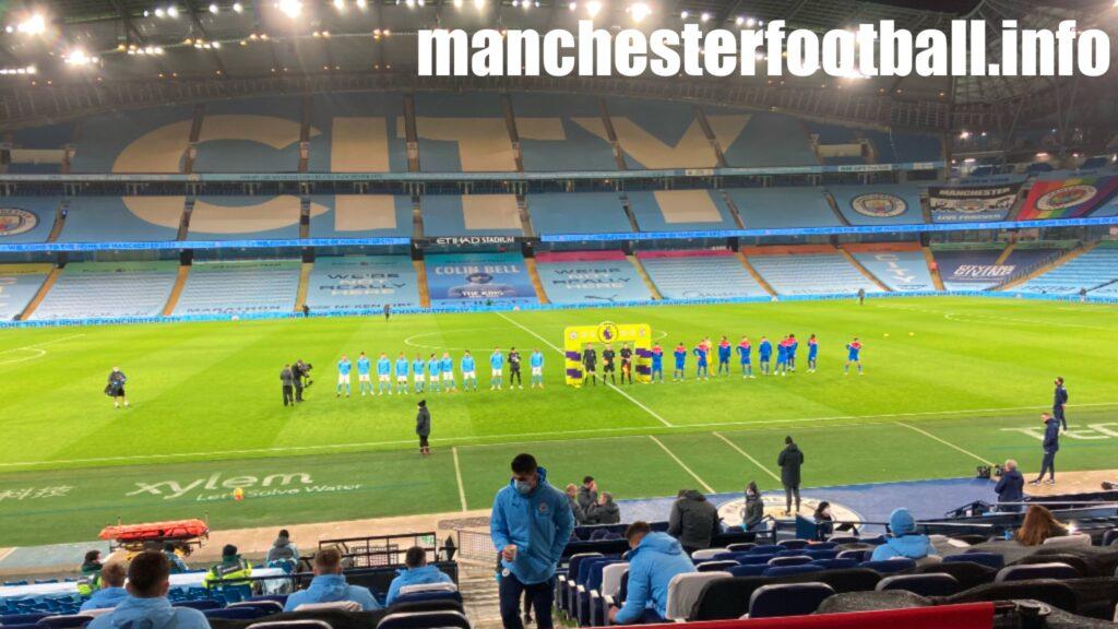 Manchester City vs Crystal Palace Sunday January 17 2021