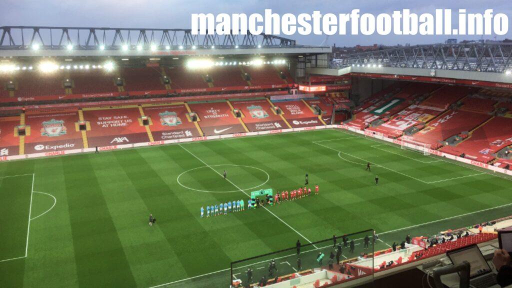 Liverpool vs Manchester City - Sunday February 7 2021