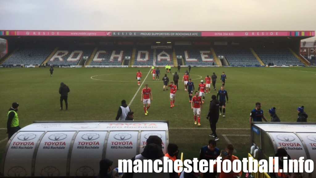 Rochdale vs Charlton Athletic Saturday February 6 2021